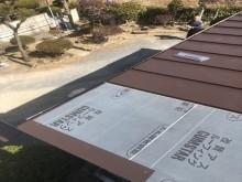 加西市のガルバリウム屋根施工