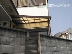 姫路市の傷んだポリカ波板