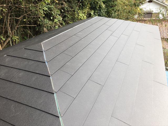 ガルテクトの屋根カバー工法