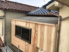 加古川市のベランダ改修の合板施工
