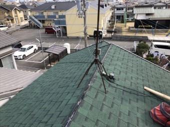 加古川市でニチハのアルマの施工写真