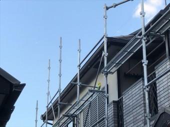 加古川市の破風交換の雨樋の取付が完了