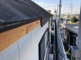 加古川市のニチハのアウティの破風板