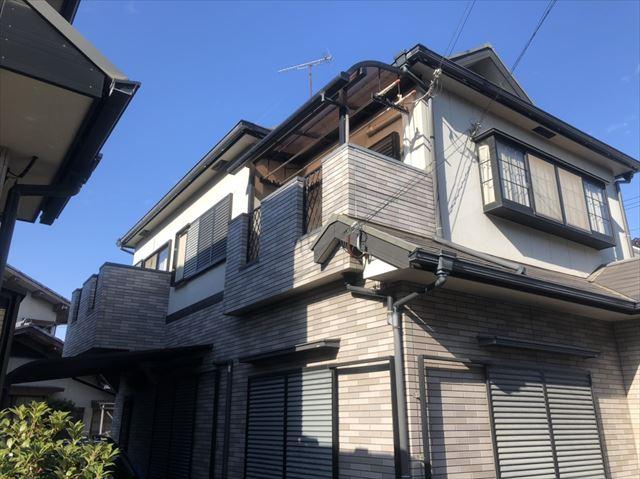 加古川市の火災保険利用の破風交換工事の完工写真