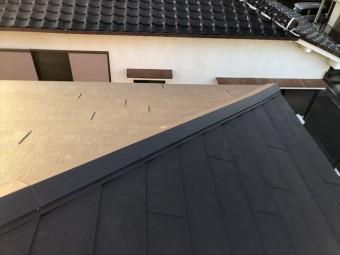 高砂市のガルテクト葺き替え工事完工写真