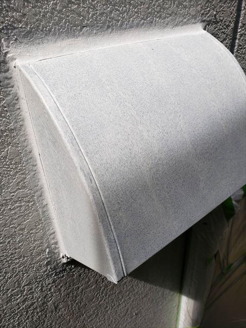 三木市の外壁塗装の鉄部錆止め塗布