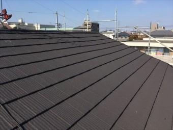 金属屋根エコグラーニ葺き替え
