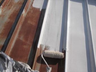 金属屋根 塗装