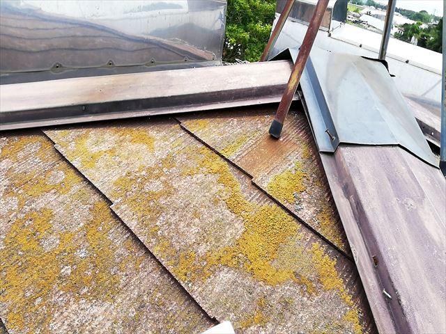 寄棟屋根 棟板金の浮き