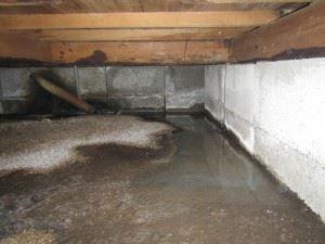 木造住宅の床下