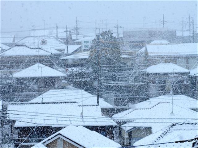 屋根修理やリフォームは積雪前に行いましょう。