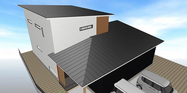 屋根に取り付けられる板金。固定に使う釘、浮いていませんか?