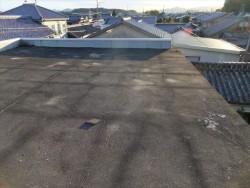たつの市屋上シート防水改修前