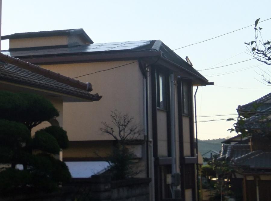 姫路市の台風被害のスレート屋根