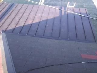 加古川市の雨漏り被害の瓦棒の葺き替え完工