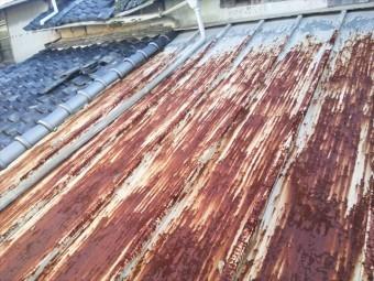 姫路市崩れた屋根瓦