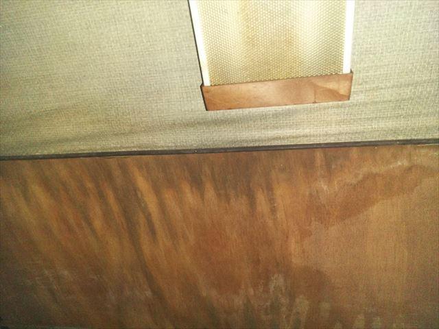 姫路市の室内天井の雨染み