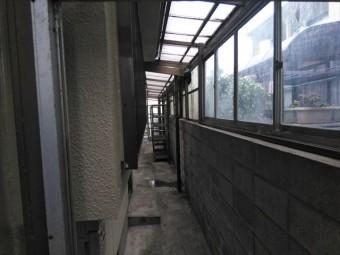 姫路市飾磨区波板復旧