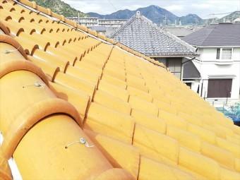 高砂市の洋瓦の屋根