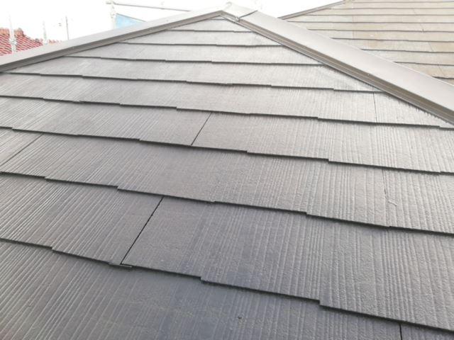 屋根塗装完了後