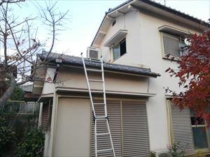 明石市、天井からの雨漏りでお問い合わせいただいたお宅に調査に行ってまいりました!