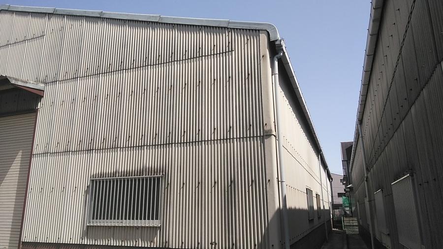 姫路市のスレート葺き倉庫の調査