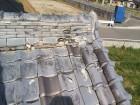 強風被害を受けた瓦屋根