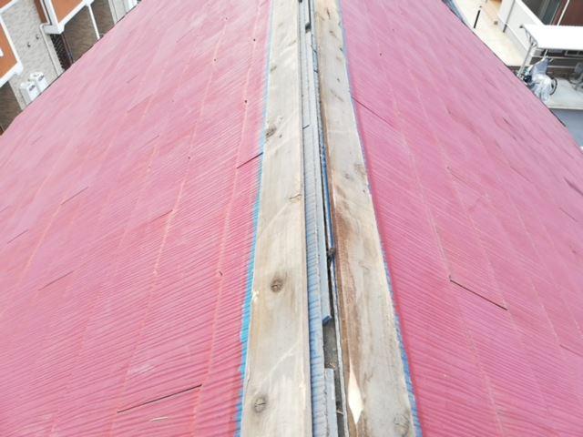火災保険を適用した台風によって破損した棟板金
