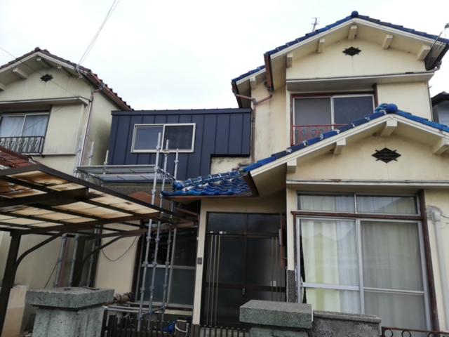 加古川市のベランダの改修工事完了