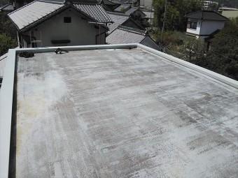 姫路市の新しい笠木板金鳥ちゅけ作業完了