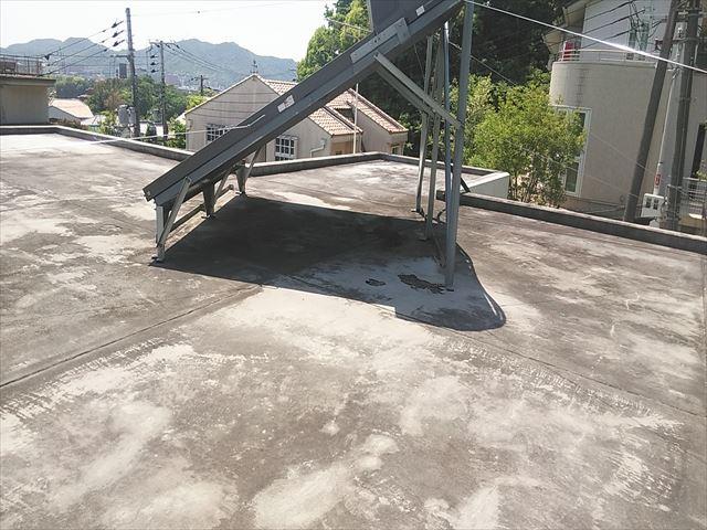 姫路市の温水器設置のための架台