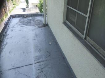姫路市の傷みがひどい防水塗膜
