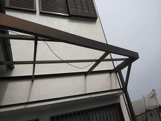 姫路市のポリカ波板撤去後の写真