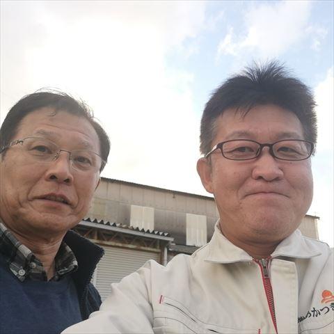 姫路市にてスレート倉庫の屋根カバー工法のご依頼を頂きましたM様の声