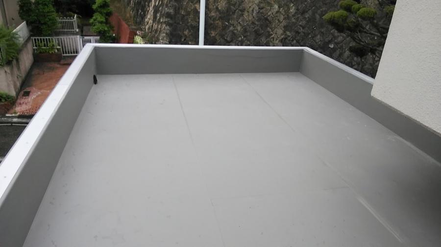 陸屋根 パラペット 防水工事