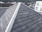 相生市高圧洗浄後のスレート屋根