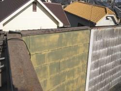 高砂市の台風被害の被害を受けた屋根