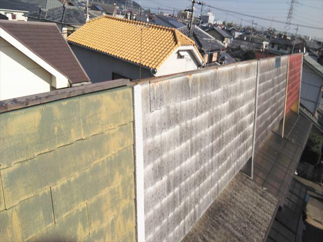 高砂市の台風での板金被害