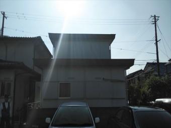 加古川市雨漏りの現地調査
