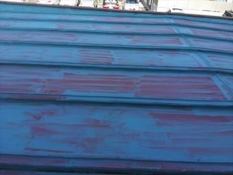加古川市傷んだ瓦棒から雨漏り