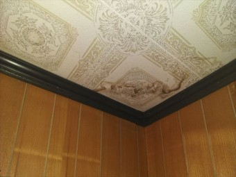 姫路市の天井の雨染み