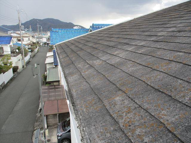 姫路市香寺町のカラーベスト屋根の写真