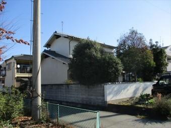 姫路市飾磨区の外壁塗装後の外観
