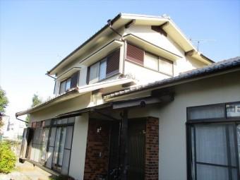姫路市飾磨区の外壁塗装後の南側外観