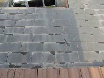 加西市の下地の傷んだ銅板屋根