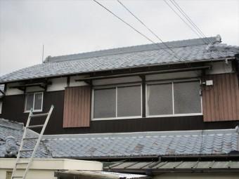 姫路市の瓦の差し替え作業完了