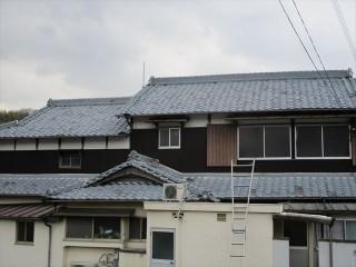 姫路市屋根瓦差し替え工事完工写真