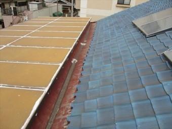 加古川市の雨漏り点検の屋根の状態