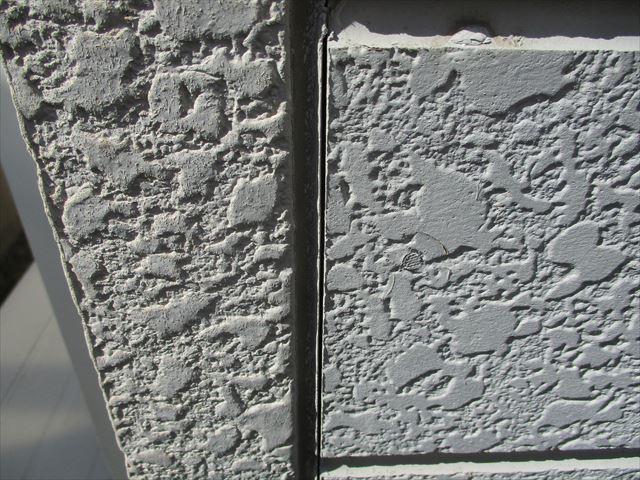 明石市の外壁のコーキングの劣化