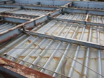 姫路市の折板屋根の調査
